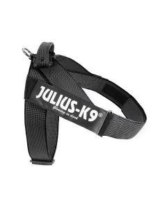 Julius-K9 Arnés IDC de cinta negro