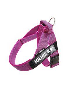 Julius-K9 Arnés IDC de cinta rosa