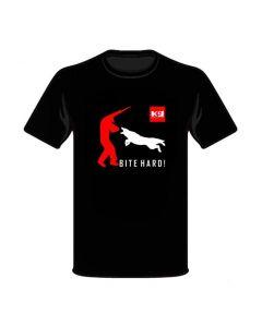 K9-Evo Camiseta Bite Hard