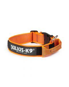 Julius-K9 Collar naranja con asa