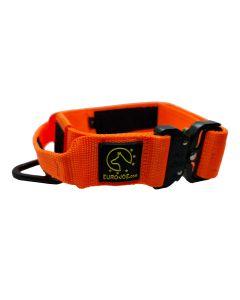 Euro Joe Collar táctico naranja con asa 38 mm