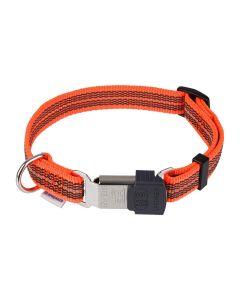 HS Sprenger Collar ajustable naranja reflectante