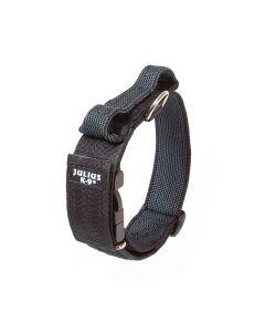 Julius-K9 Collar negro con asa