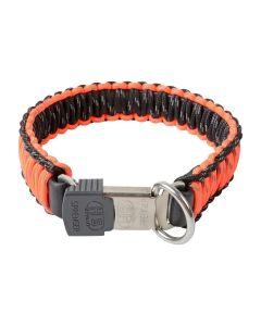 HS Sprenger Collar PARACORD reflectante naranja