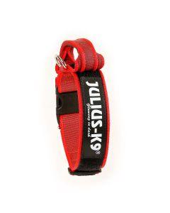 Julius-K9 Collar rojo con asa
