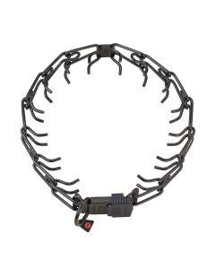 HS Sprenger Collar Ultra-Plus ClicLock Pro de acero inoxidable negro