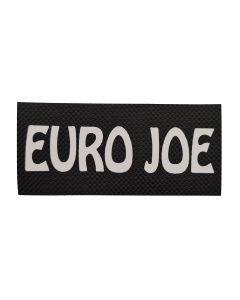 Euro Joe Logo con velcro y texto personalizado