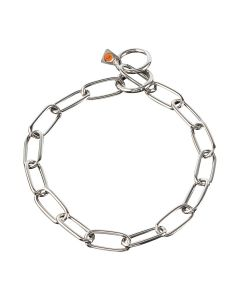 HS Sprenger Collar eslabón largo de acero inoxidable 4 mm