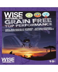 Wise Natural Grain Free 10 kg Top Performance